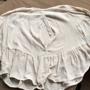 Free People Tops - Free people ruffle shirt